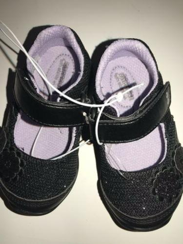 Size 4 Girls Black Children Footwear