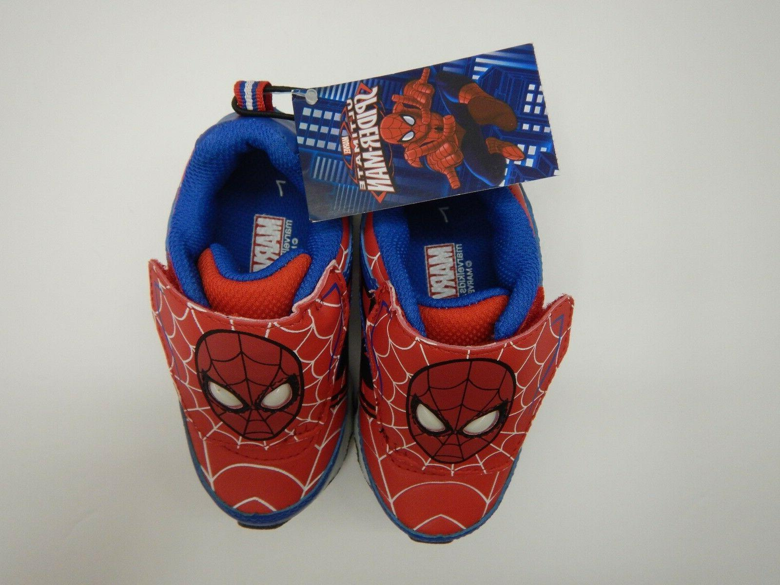 Spiderman Avengers Boys Youth Toddler Light 8 9 11
