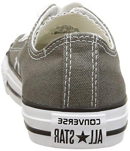 Converse Chuck Taylor Star Low Sneaker, Charcoal, M US