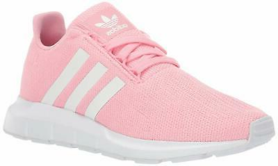 swift run shoes kids light pink white