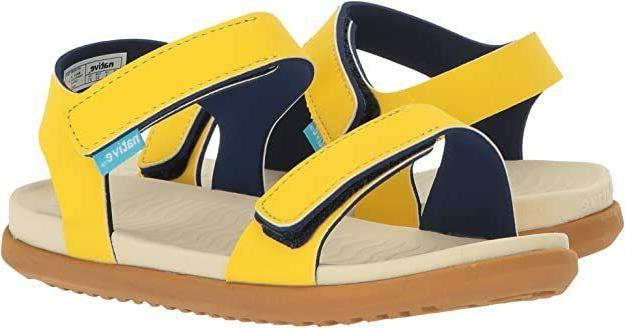 toddler kids charley sandal shoes yellow size