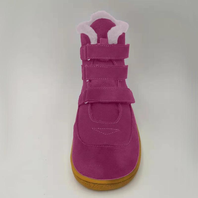 TipsieToes Genuine Leather Baby <font><b>Girl</b></font> For Fashion Winter <font><b>Boots</b></font>