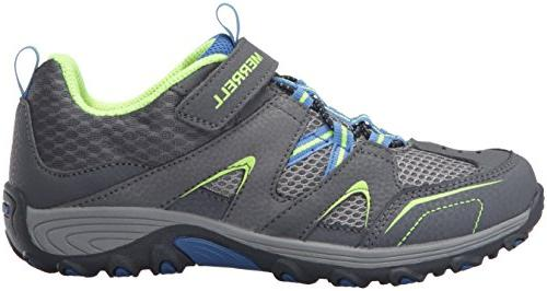 Merrell Trail Shoe Grey/Blue/Citron, M Big
