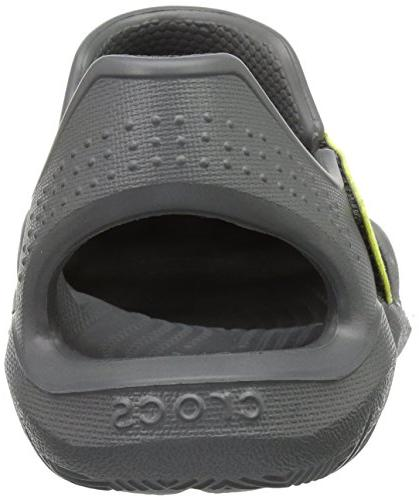 Crocs Unisex Swiftwater Sandal Flat, Ball US Little Kid
