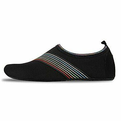 Womens and Water Shoes Quick-Dry Aqua Socks for Swim