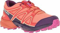 Salomon L39238700-5 Kids Speedcross Junior Running Sneakers-
