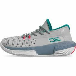 Little Kids' Under Armour SC 3ZER0 III Basketball Shoes Halo