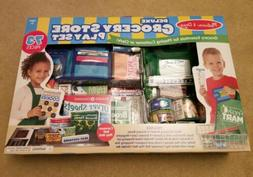 Melissa And Doug Deluxe Grocery Store Place At 73 Pieces New