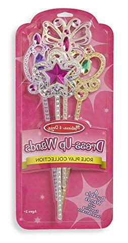 Melissa Pretend Play & Doug Dress-Up Wands for Costume Role