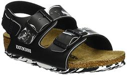 Birkenstock Milano, Boys' Sling Back Sandals, Black , 10 U
