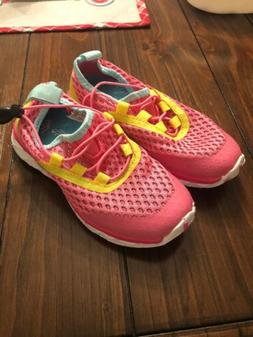 N/O Aleader Anventure Girls Water Shoes Pink/Yellow Size 13
