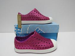 Native Kids Shoes Girl's Jefferson Bling Glitter Origami/She