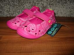 NEW $30 Stride Rite Mary Janes Pink Kids Slip On Toddler Sho