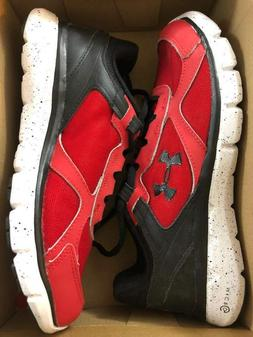 NEW Boy's Under Armour Shoes Size GGS MICRO G ASSERT 6 Red Y