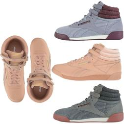 NEW Reebok Girls' Casual Shoes Kids Freestyle HI Wool Grad
