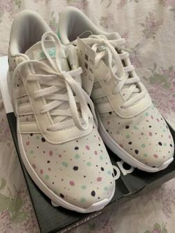 New Adidas Girls Shoes Kids Lite Racer k size 5