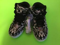 New ENERGY LIGHTS  Kids Boys High Top Sneakers Shoes Sz 2 Bl