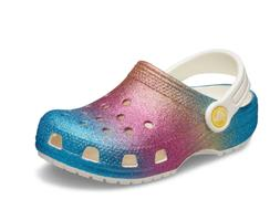 NEW Crocs Kids Classic Ombre Glitter Clog Size 6Y