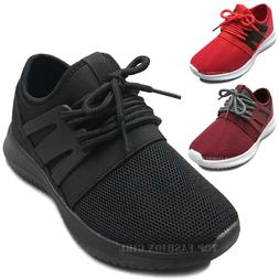 new kids mesh sneakers athletic lace up
