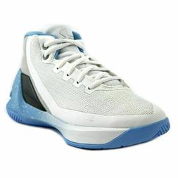NEW Little Kids Under Armour UA Curry 3 Basketball Shoes Whi