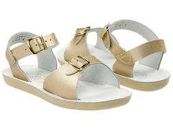 NEW LITTLE KIDS YOUTH SALT WATER SANDAL SURFER GOLD 1720 SUN