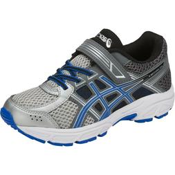 NEW Asics Pre Contend 4 Running Shoes boys kids size 11 blue