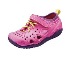New CROCS Swiftwater Play Girls Shoes Size 12