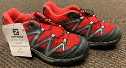 "New Salomon ""XT WINGS K"" Kid's Running Shoes Size 13K Dynami"