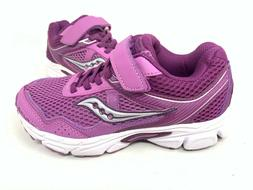 NEW! Saucony Youth Girl's Cohesion 10 AC Running Shoes Purpl
