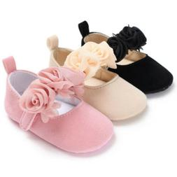 Newborn Infant Baby Kids Shoes Girl Toddler Soft Sole Crib S