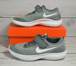 NIB BOYS YOUTH KIDS NIKE FLEX EXPERIENCE RN 7 GRAY RUNNING S
