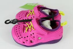 NWT CROCS Kids SWIFTWATER PLAY Athletic SHOE Sneakers~Girl S
