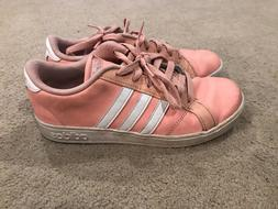 Adidas Originals Baseline Shoes Kids' Trace Pink Cloud White