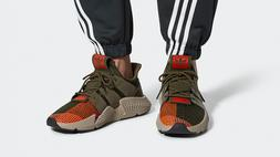 Adidas Originals Boys' Prophere Originals Olive/Orange/Gray