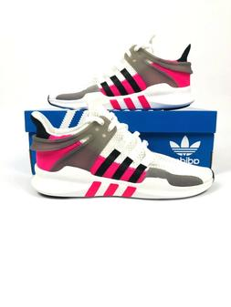ADIDAS ORIGINALS EQT SUPPORT ADV WHITE BLACK SHOCK PINK BY98
