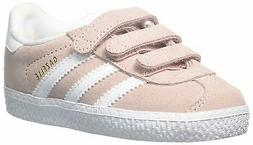 adidas Originals Kids' Gazelle CF I Running Shoe, Ice Pink/W