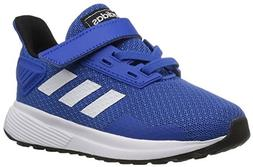 adidas Performance Unisex-Kids Duramo 9 Running Shoe, Blue/W