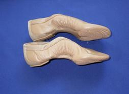 BLOCH Pulse Split Sole Jazz Shoe Tan Size 11.5 Kids Not True