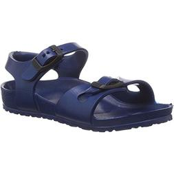 Birkenstock Boys Kids Rio EVA Navy Narrow Fit Sandals Size 1