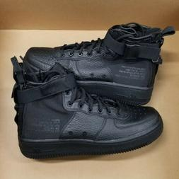 Nike SF AF1 Mid Special Field Air Force 1 Triple Black  Yout