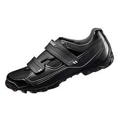 Shimano SH-M065 Cycling Shoe - Men's Black, 39.0