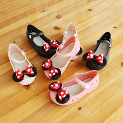 Shoes for Girl Summer Cartoon Cute Mickey Minnie Jelly Sanda