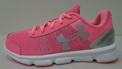 Under Armour Size 1Y 1 SPEED SWIFT Pink Sneakers New Girls L