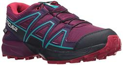 Salomon Unisex Speedcross CSWP J Trail Running Shoe, Grape J