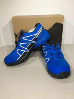 Salomon Speedcross CSWP Kid's Sz US 6/EU 38 Blue Trail Run