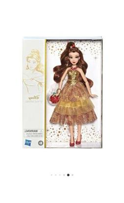 Disney Princess Style Series Belle Doll with Purse and Shoes