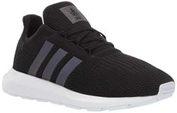 adidas Originals Unisex Swift Running Shoe, Black/Weiss-Schw