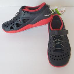 Crocs Swiftwater Play Shoes Boys C13 13 Kids Navy Blue Red N