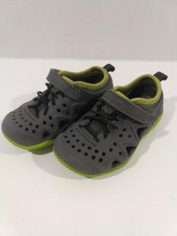 Crocs Swiftwater Play Shoes Water Sandal Slate Gray Toddler