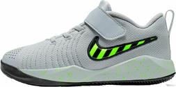Nike Team Hustle Quick 2 Kid's Youth Mid Top Basketball Shoe
